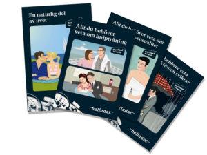 informations broschyrer Belladot