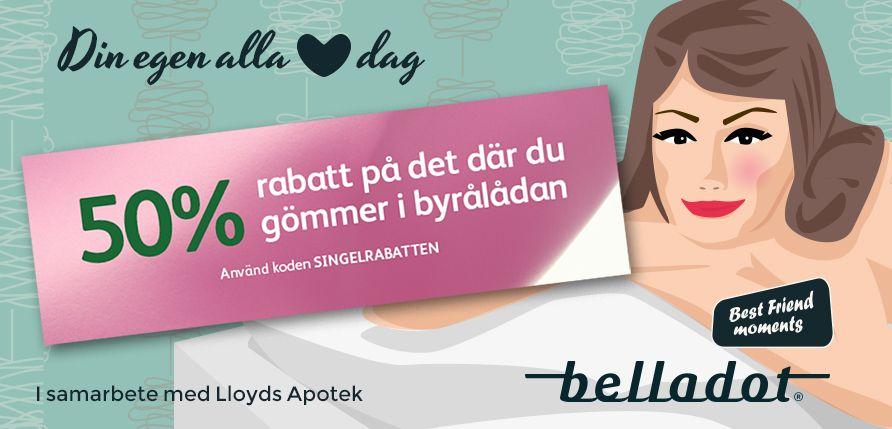 Belladot Kampanj Lloyds Apotek